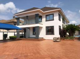 4 bedroom house for sale at Executive  newly build 4bedrooms self compound swimming pool  boys quarter  Avai