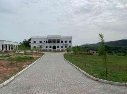 7 bedroom house for sale at seven bedroom palace well furnished on a 57 acre land at Aburi