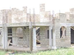 8 bedroom house for sale at Apesika Around Light House Chapel in Nkawkaw, Eastern Region